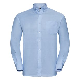 Russell Long Sleeve Easycare Oxford Shirt