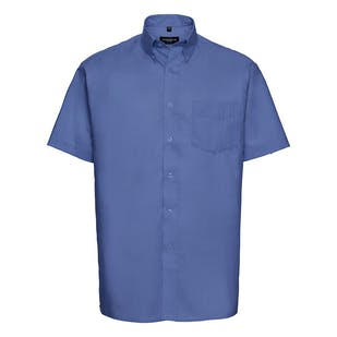 Russell Short Sleeve Easycare Oxford Shirt