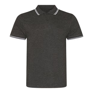 AWDis Stretch Tipped Polo Shirt