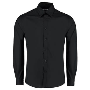 Kustom Kit Long Sleeve Bar Shirt