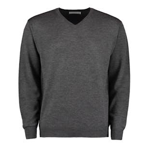 Kustom Kit Merino Blend Long Sleeve Sweater