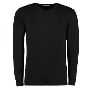 Kustom Kit Arundel Long Sleeve V-Neck Sweater