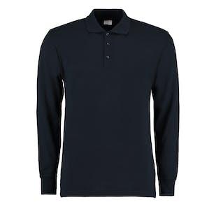 Kustom Kit Long Sleeve Pique Polo Shirt
