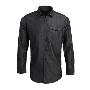 Premier Jean Stitch Denim Shirt