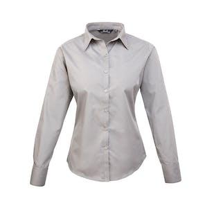 Premier Women's Poplin Long Sleeve Blouse