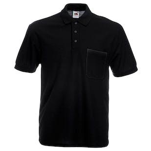 Fruit of The Loom 65/35 Pocket Polo Shirt