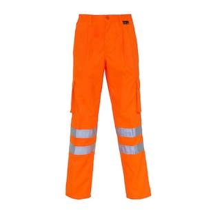 Supertouch Hi-Vis Combat Trousers