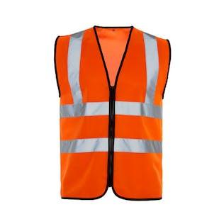 Supertouch Zipped Hi-Vis Vest