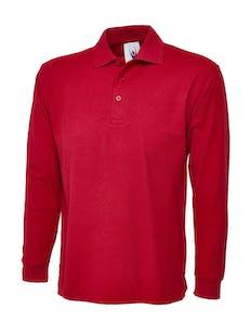 Uneek Long Sleeve Polo Shirt