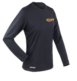 WALX Ladies Quick-Dry Long Sleeve T-Shirt