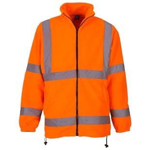 Yoko Hi-Vis Heavyweight Fleece Jacket