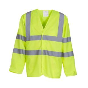 Yoko Long Sleeve Hi-Vis Waistcoat