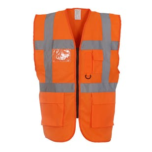 Yoko Multifunctional Hi-Vis Executive Waistcoat