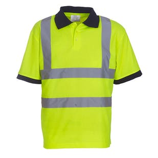 Yoko Short Sleeve Hi-Vis Polo Shirt