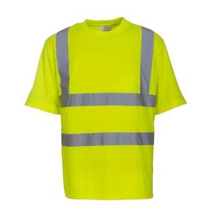 Yoko Short Sleeve Hi-Vis T-Shirt
