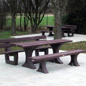 Bath Bench and Picnic Table