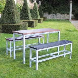 Bistro Table and Benches