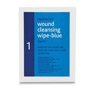 Blue Alcohol Free Moist Cleansing Wipes