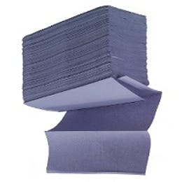 Blue M-Fold / Z-Fold Towels