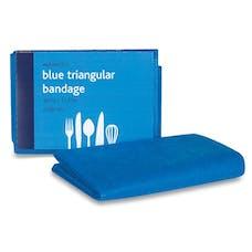 Blue Triangular Bandages