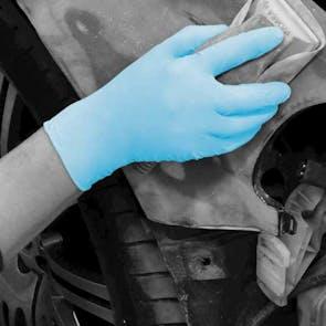 Bodyguards AQL 4.0 Blue Powder Free Nitrile Gloves