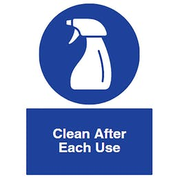 Clean After Each Use