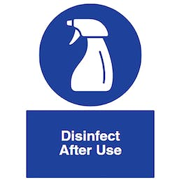 Disinfect After Use