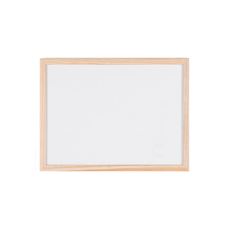 Budget Wood Framed Non-Magnetic Whiteboards