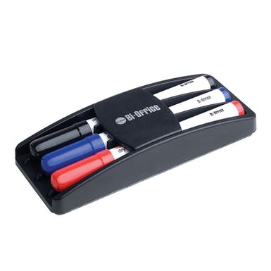 Bi-Office Dry Erase Markers and Eraser