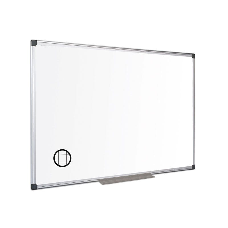 Maya Gridded Non-Magnetic Whiteboard