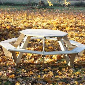 Brighton Octagonal Picnic Table