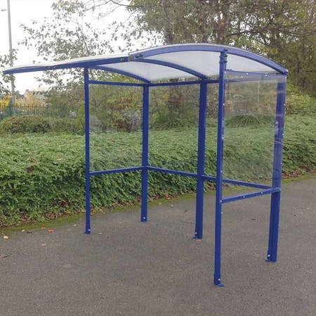 Budget Open Fronted Smoking Shelter