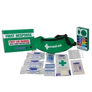 EurekaPlast Bum Bag First Aid Kit With Talking Guide