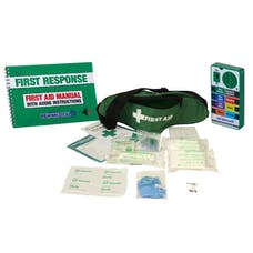 ValueAid Bum Bag First Aid Kit With Talking Guide