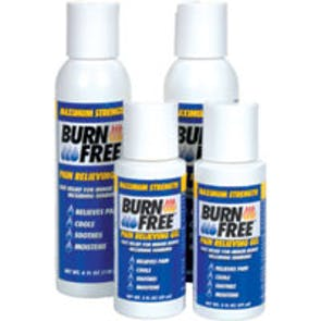 Burnfree Pain Relieving Gel