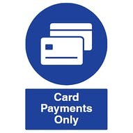 Card Payments Only