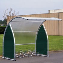 Cardiff Curved Cycle Shelter