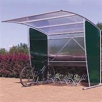 Cardiff Flat Back Cycle Shelter