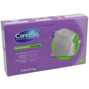 CareBag Vomit Bag with Super Absorbent Pad