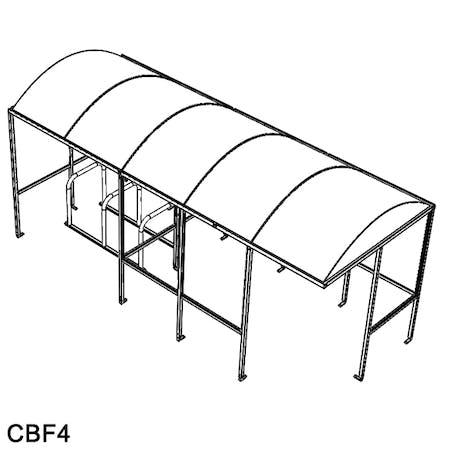 Sandford Combi Cycle-Smoking Shelter