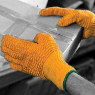 PVC Criss Cross Gloves