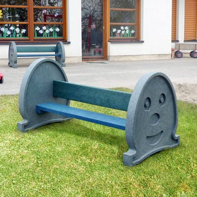 Chalk Face Play Bench