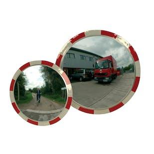Circular Traffic Mirrors