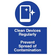 Clean Devices Regularly