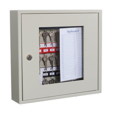 Clear Fronted Perspex Key Cabinets