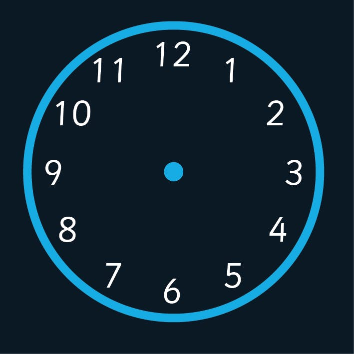 Telling The Time Clock Face Markings
