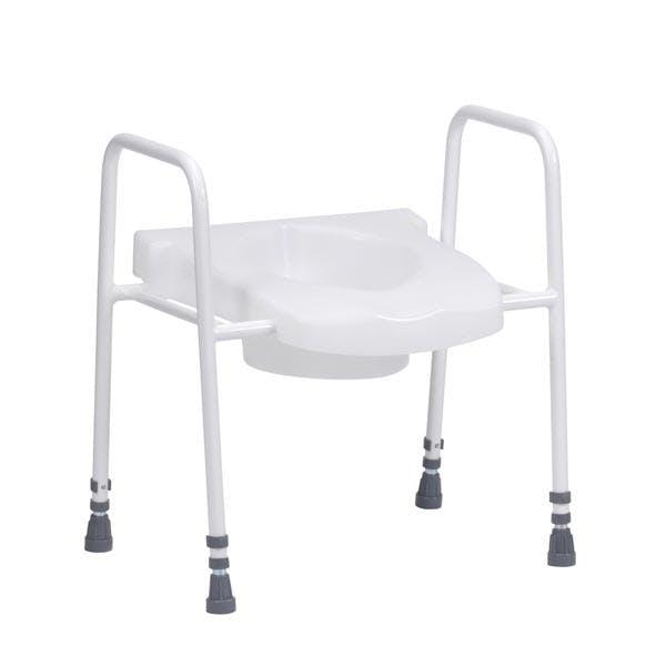 Combi Raised Toilet Seat & Frame