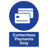 Contactless Payments Only