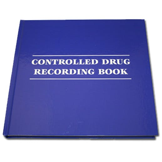 Controlled Drug Recording Book