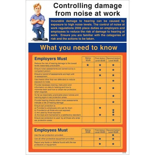 Controlling Damage From Noise at Work